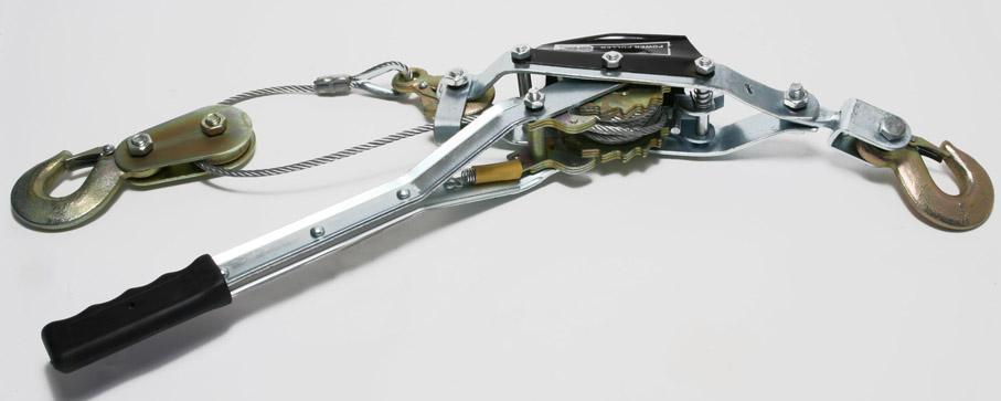Pa lăng lắc tay cáp siêu nhẹ Kawasaki 0.34 tấn